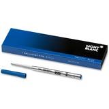 Montblanc Ballpoint Pen Refill - Medium Point - Pacific Blue Ink - 1 Each MNB105151