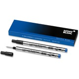 Montblanc Rollerball Pen Refill - Medium Point - Pacific Blue Ink - 2 / Pack MNB105165