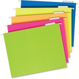 PFX81672 - Pendaflex Glow Colors Hanging File Folders
