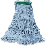 Rubbermaid Commercial Super Stitch Blend Mop - Cotton, Synthetic Yarn RCPD21206BE