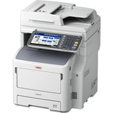 Oki MB700 MB760+ LED Multifunction Printer - Monochrome - Plain Paper Print - Floor Standing