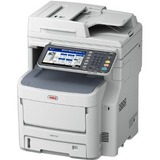 Oki MB760+ Wireless LED Multifunction Printer - Monochrome - Plain Paper Print - Desktop