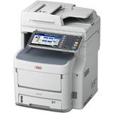 Oki MB770+ LED Multifunction Printer - Monochrome - Plain Paper Print - Desktop