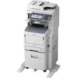 Oki MB770fx+ LED Multifunction Printer - Monochrome - Plain Paper Print - Floor Standing