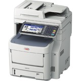 Oki MC770+ LED Multifunction Printer - Monochrome - Plain Paper Print - Desktop