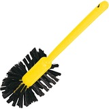 "Rubbermaid Commercial Plastic Handle Toilet Bowl Brush - 1.50"" Length Bristles - 17"" Length Handle - RCP632000BRN"