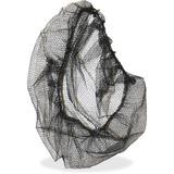 "Genuine Joe Black Nylon Hair Net - Large Size - 21"" Stretched Diameter - Contaminant Protection - Ny GJO85135"