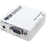 Tripp Lite VGA to HDMI Adapter Converter for Stereo Audio / Video White