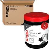"Wypall Heavy-duty Waterless Cleaning Wipes - Orange Citrus - 9.50"" x 12"" - Green - Pre-moistened, He KCC58310CT"