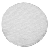 "Impact Products Low Profile Carpet Bonnet, 19"", White - 1Each - Polyester - White IMP1019"