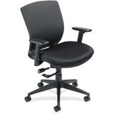 "Nightingale VXO Mid-back Task Chair - Fabric Black Seat - Black Back - 5-star Base - 20.75"" Seat Wid NGL7280C1"