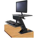 "Kantek Monitor Stand - 25 lb Load Capacity - 21.5"" Height x 23.5"" Width x 23.5"" Depth - Desktop - Bl KTKSTS800"