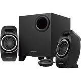 Creative T3250 2.1 Speaker System - Desktop - Wireless Speaker(s) - Black