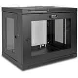 Tripp Lite SRW9UG SmartRack 9U Wall-Mount Standard-Depth Rack Enclosure Cabinet