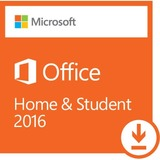 Microsoft Office 2016 Home & Student - License - 1 PC - Non-commercial - Word 2016, Excel 2016, PowerPoint 2016, OneNote 2016, and Outlook 2016