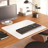 "ES Robbins Full Color Desk Pad - 36"" Width x 20"" Depth - White ESR119702"