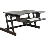 LLR81974 - Lorell Adjustable Desk/Monitor Riser