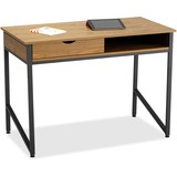SAF1950BL - Safco Single Drawer Office Desk