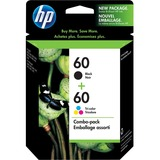 HP 60 Original Ink Cartridge - Black, Tri-color