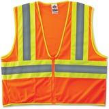 GloWear 8229Z Class 2 Economy Two-Tone Vest - Recommended for: Construction - Large/Extra Large Size EGO21305