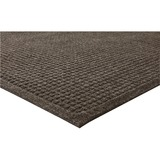 "Genuine Joe EcoGuard Floor Mat - Building - 72"" Length x 48"" Width - Rectangle - Fiber - Brown GJO59458"