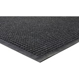 "Genuine Joe WaterGuard Floor Mat - 10 ft Length x 36"" Width - Rectangle - Rubber - Charcoal GJO59460"