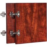 Lorell Essentials Cherry Wall Hutch Door Kit