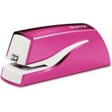 Leitz NeXXt Electric Stapler - 10 Sheets Capacity - 4 x AA Batteries - Pink LTZ55667023