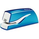 Leitz NeXXt Electric Stapler - 10 Sheets Capacity - 4 x AA Batteries - Blue LTZ55667036