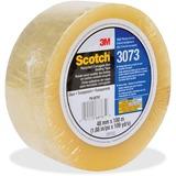"Scotch Recycled Corrugate Tape 3073 - 2.83"" Width x 109.36 yd Length - 3"" Core - Polypropylene Film  MMM307348X100CL"
