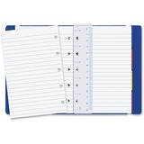 Rediform Filofax Notebook - 112 Pages - Printed - Twin Wirebound - Ruled - 100 g/m² Grammage -  REDB115003U