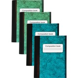 Sparco Composition Books - 80 Sheets - Multi-colored Cover - 4 / Pack SPR36126