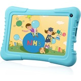 "Tablet Express Dragon Touch 7"" Quad Core Android IPS Kids Tablet - Blue - Dragon Touch 7"" Quad Core Android Kids Tablet - Wifi and Camera and Games - HD Kids Edition w/ Zoodles Pre-Installed (2015 New Model, M7 with Blue Silicone Case)"