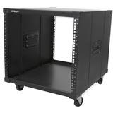 StarTech.com Portable Server Rack with Handles - Rolling Cabinet - 9U