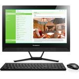 Lenovo C40 F0B400JWUS All-in-One Computer - Intel Pentium 3825U 1.90 GHz - Desktop - Black