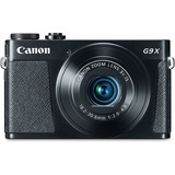 "Canon PowerShot G9 X 20.2 Megapixel Compact Camera - Black - 3"" Touchscreen LCD - 16:9 - 3x Optical  CNM0511C001"