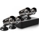 Swann Compact Security System - 4 Channel Digital Video Recorder & 4 Cameras