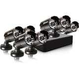 Swann Compact Security System - 8 Channel Digital Video Recorder & 8 Cameras