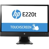 "HP Business E220t 21.5"" LED LCD Touchscreen Monitor - 16:9 - 8 ms"