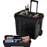 "Continental Continental Tuff Box Portable Tool Organizer - 20.3"" Height x 23.5"" Width x 15.5"" Depth  CMC1921BK"