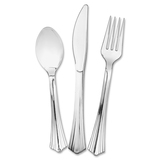 Eco-Products Reflections Cutlery Set - 75 Piece(s) - 75/Pack - 25 x Spoon - 25 x Knife - 25 x Fork - ECOWNA612375