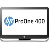 HP Business Desktop ProOne 400 G2 All-in-One Computer - Intel Pentium G4400 3.30 GHz - Desktop - Black