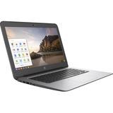 "HP Chromebook 14 G4 14"" LCD Chromebook - Intel Celeron N2840 Dual-core (2 Core) 2.16 GHz - 4 GB DDR3L SDRAM - 16 GB SSD - Chrome OS (English/French) - 1366 x 768"