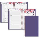 At-A-Glance Melanie Floral Weekly/Monthly Planner