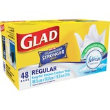 Glad Reg/Wht Easy-Tie Kitchen Catchers Bags