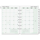 Day-Timer 2PPM Tabbed Bilingual Planner Refill