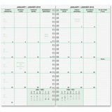 Day-Timer Bilingual 1PPD Compact Planner Refill