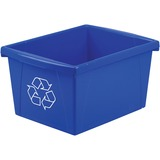 Storex Letter Size Paper Recycle Bin