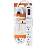 Woods 6-Outlet Power Strip