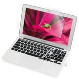 "IOGEAR Shield+Protect: 13"" Macbook Air Keyboard Skin and Screen Protector"